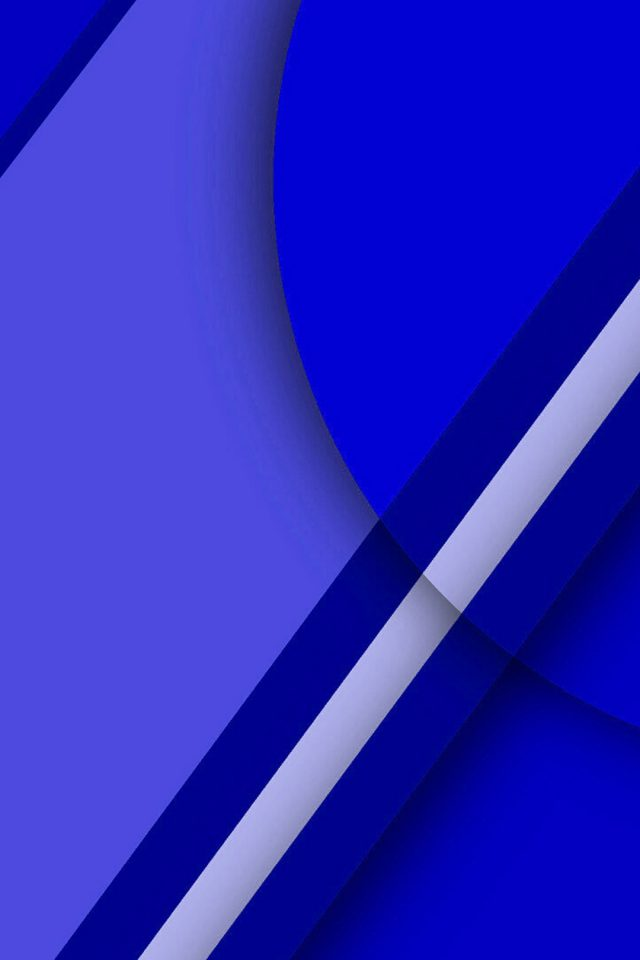 3D Blue Geometry Graphics Android wallpaper