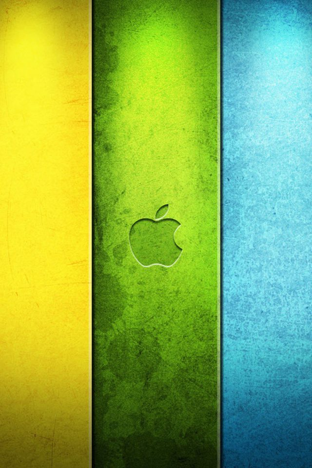 Apple Colorful Android wallpaper