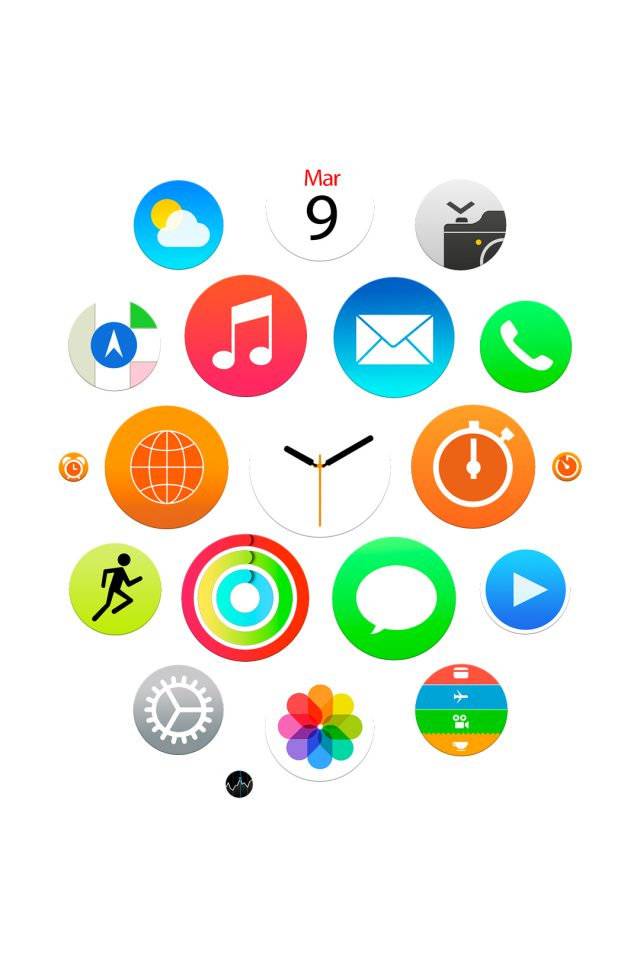 Apple Watch Official Android wallpaper