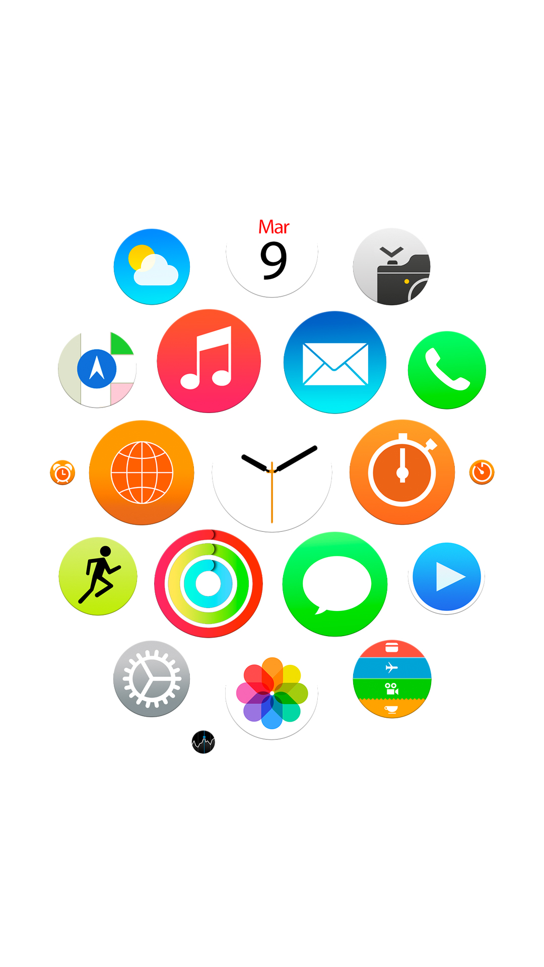 apple watch official android wallpaper - android hd wallpapers