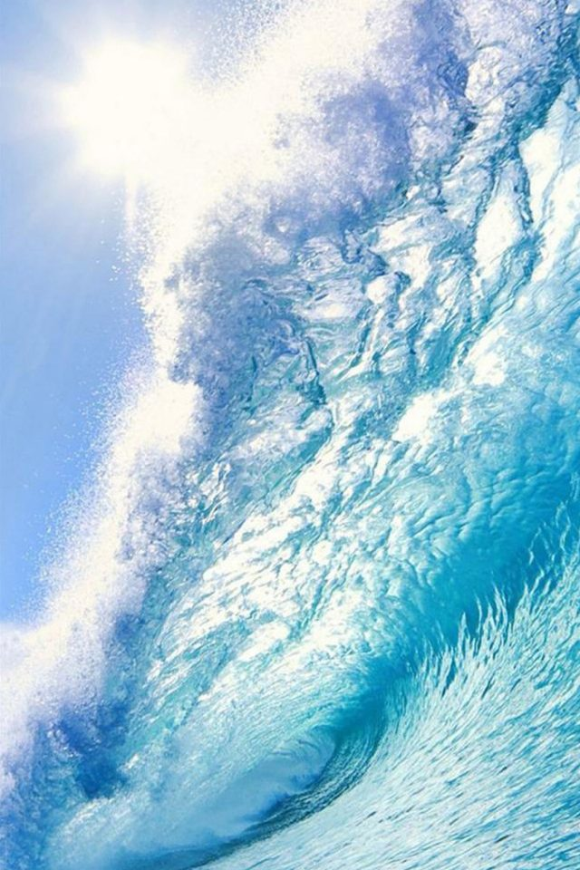 Great Waves Android wallpaper