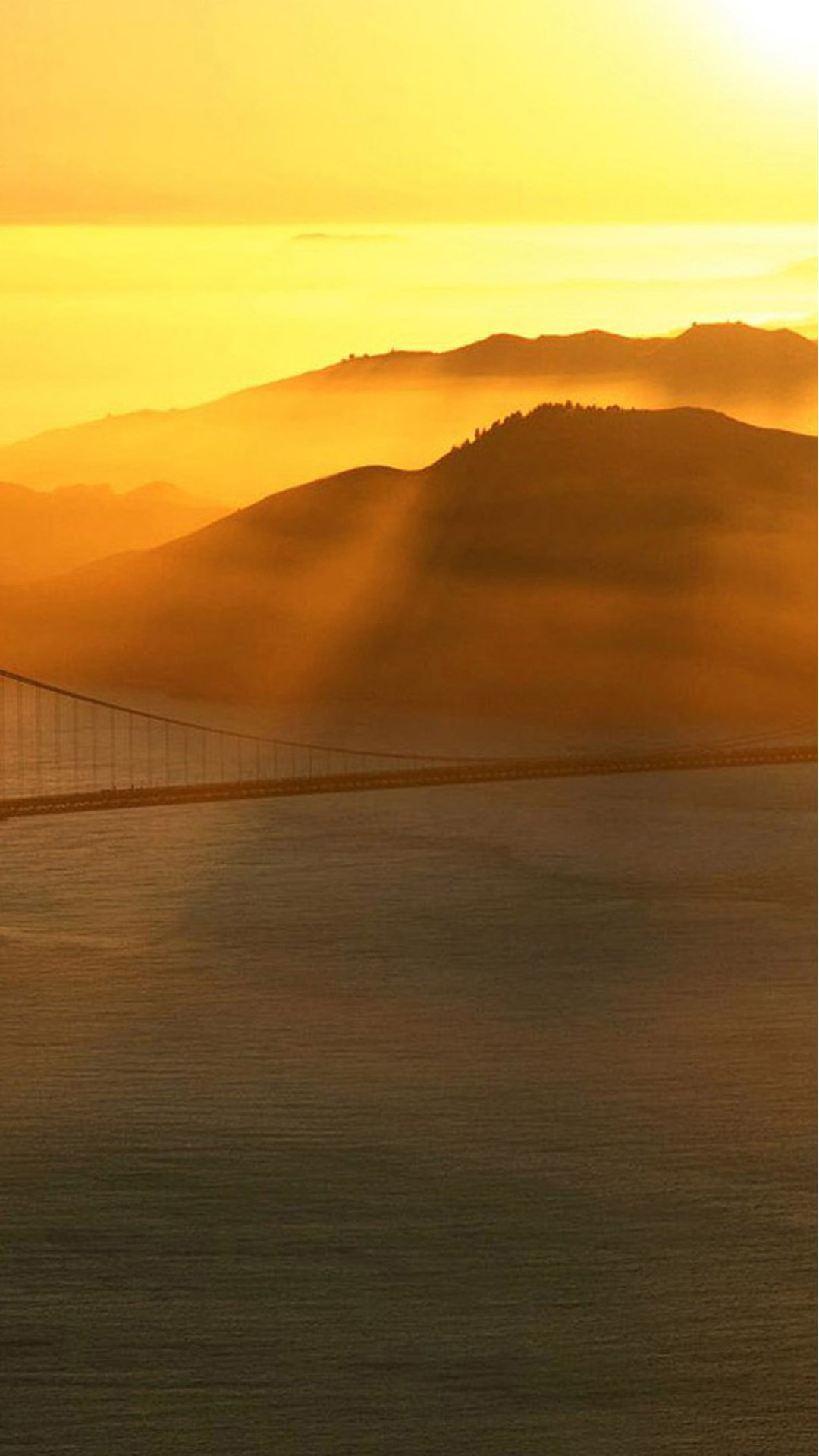 Bridge Sunrays Android wallpaper