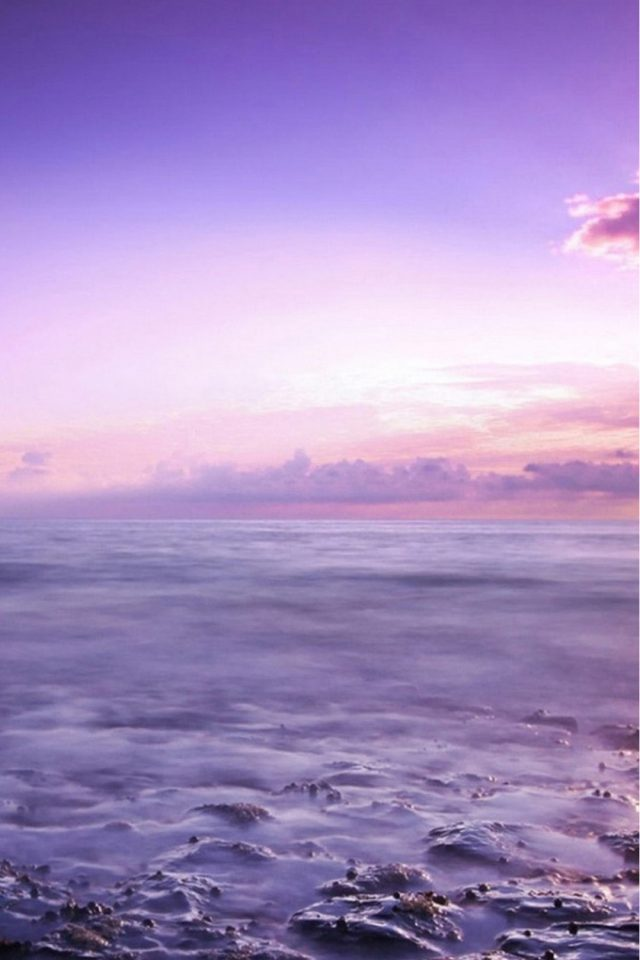 Purple Skies Android wallpaper