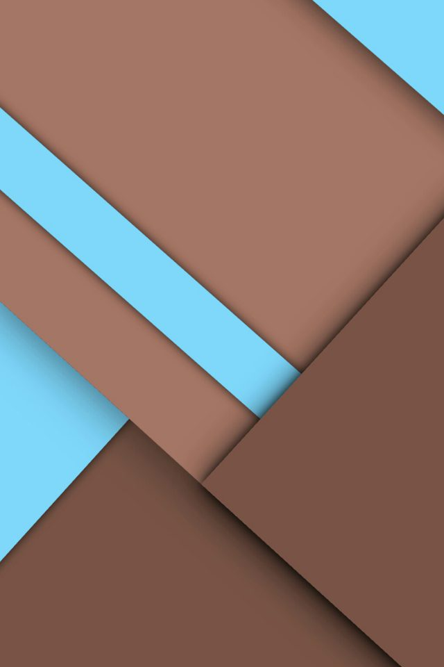 Brown Geometry Graphics Android wallpaper