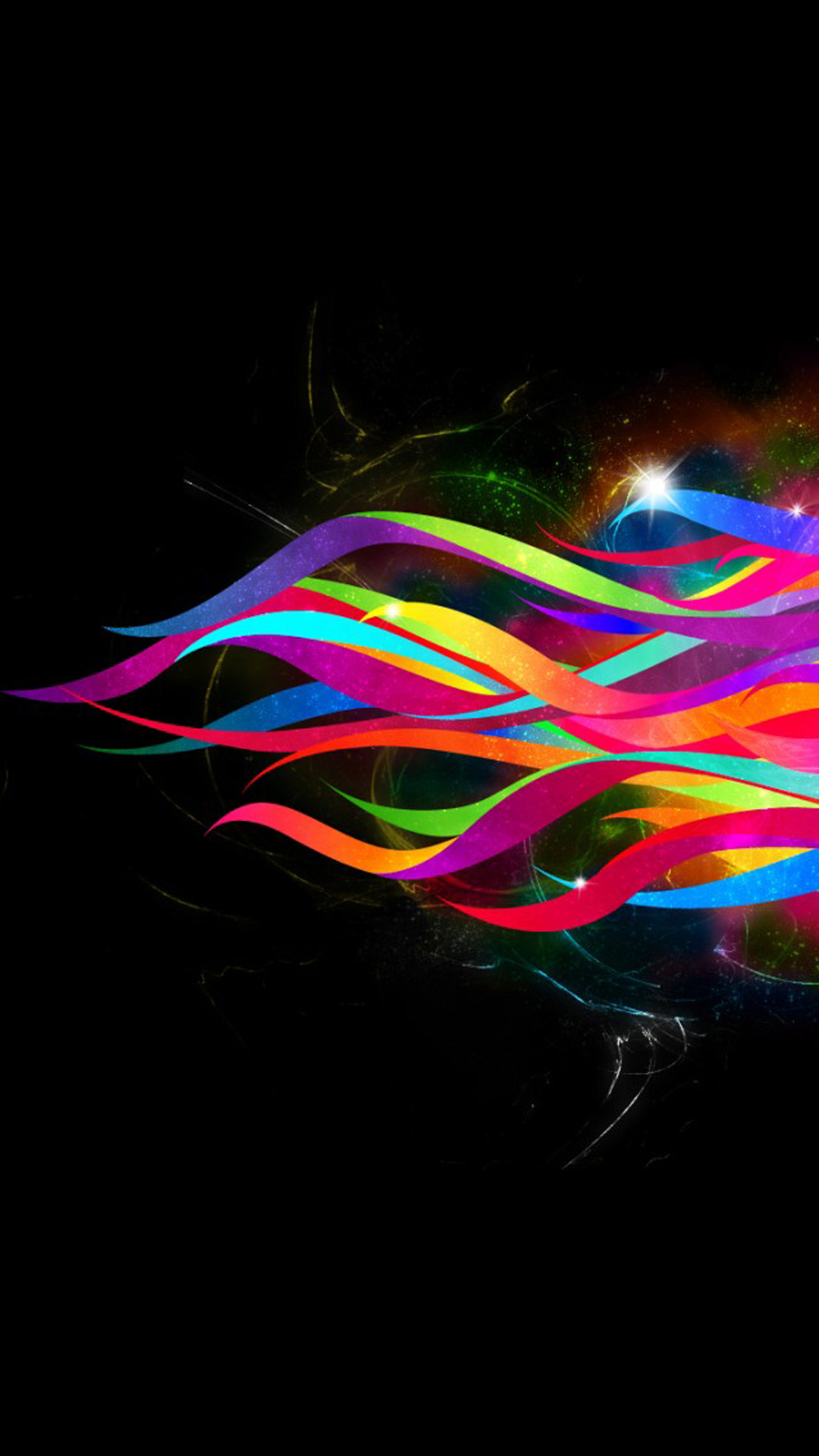 Colorful abstract lines Android wallpaper - Android HD ...