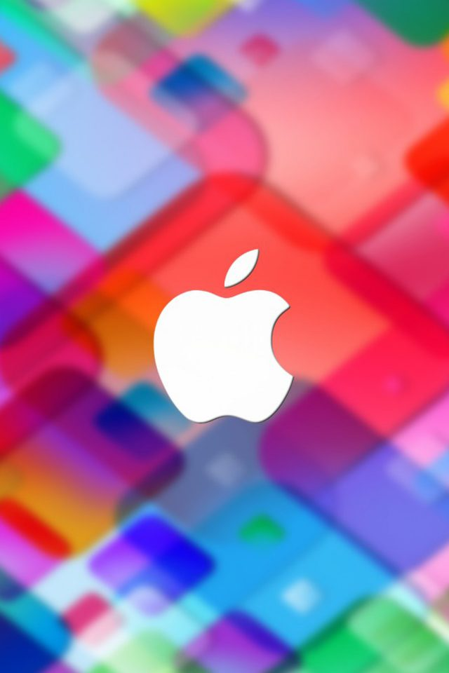 Colorful Apple Android wallpaper