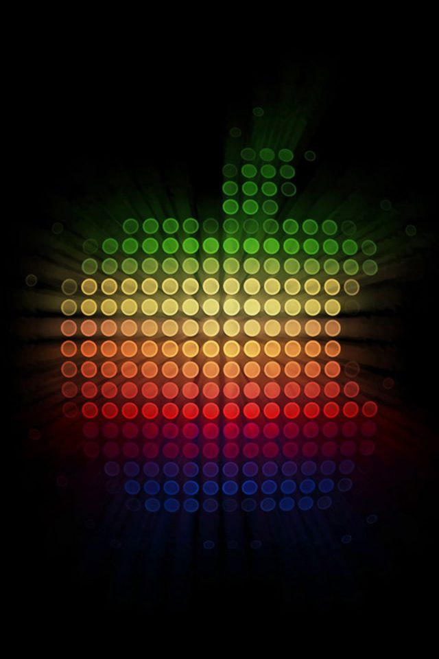 Colorful Apple Logo Android wallpaper