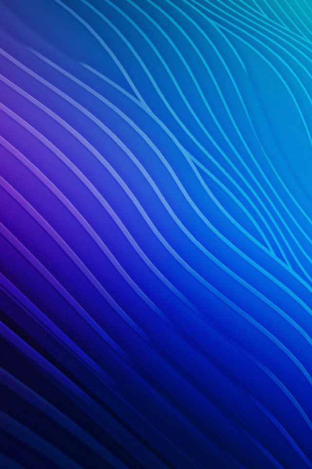 Colorful ripples Android wallpaper