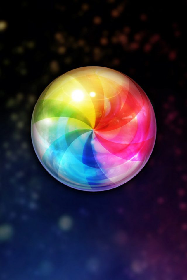 Running Color Wheel Android wallpaper