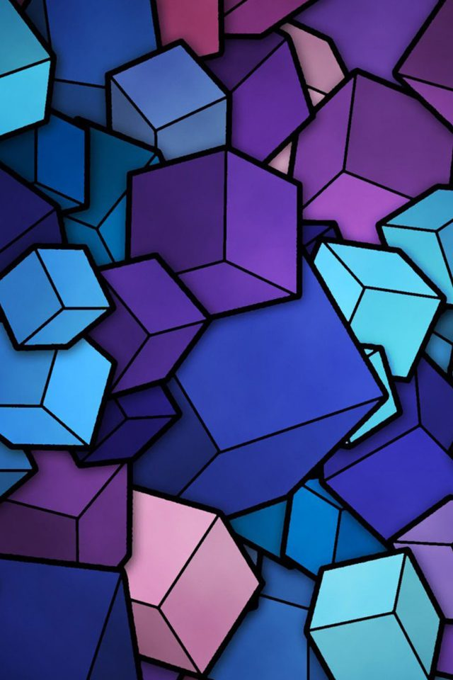 Abstract Squares Android wallpaper