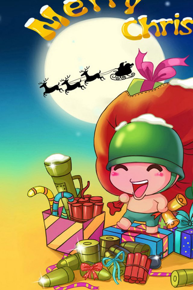 Merry Christmas Android wallpaper
