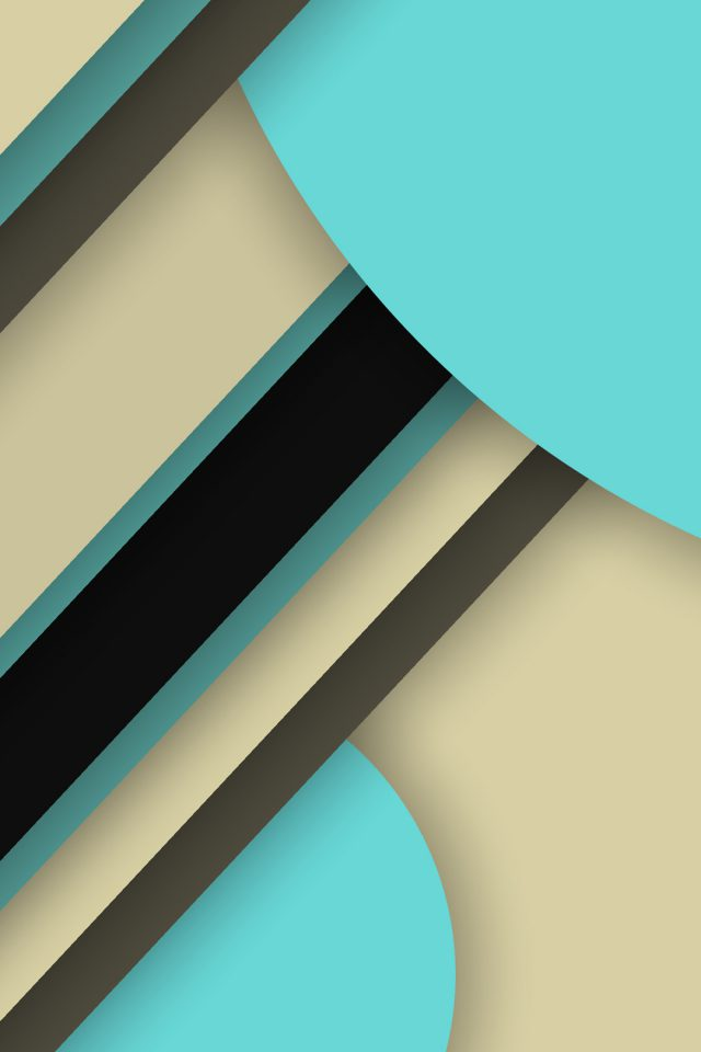 Great geometric theme Android wallpaper