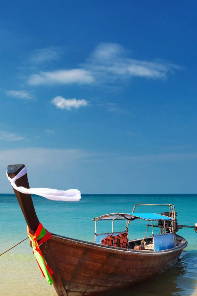 Karon Beach Yacht Boat Android wallpaper