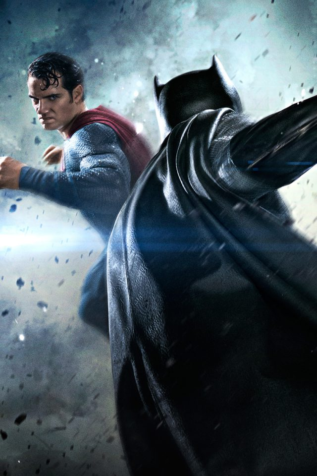 Batman VS Superman Movie Fight Android wallpaper