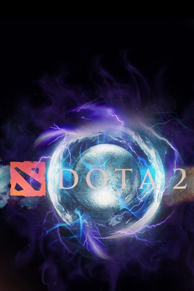 Dota 2 Logo 2 Android wallpaper