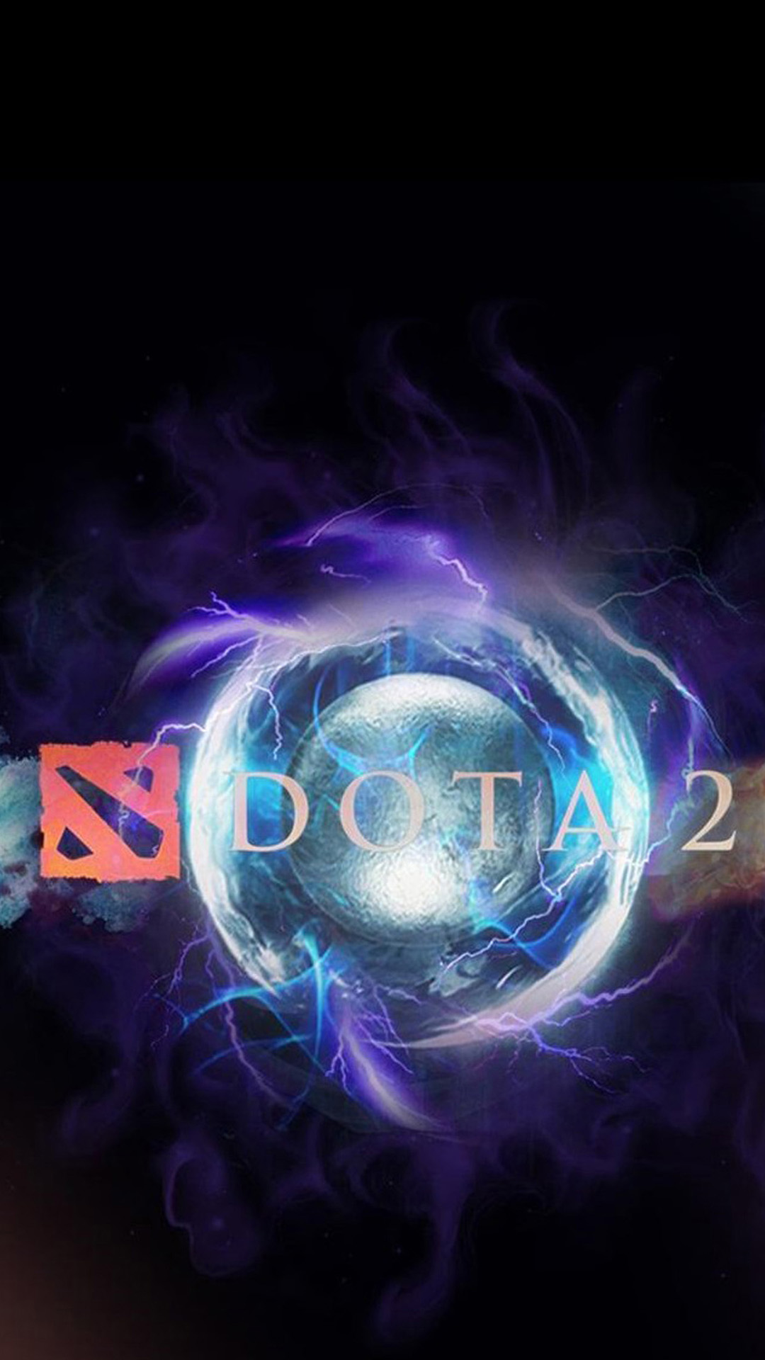 Dota 2 Logo Android Wallpaper