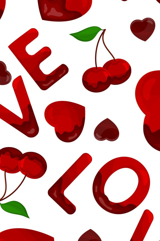 Love Heart Red Android wallpaper