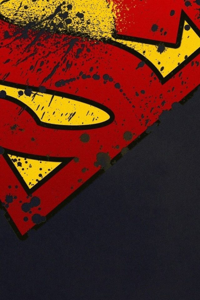 Superman Logo HD Android wallpaper