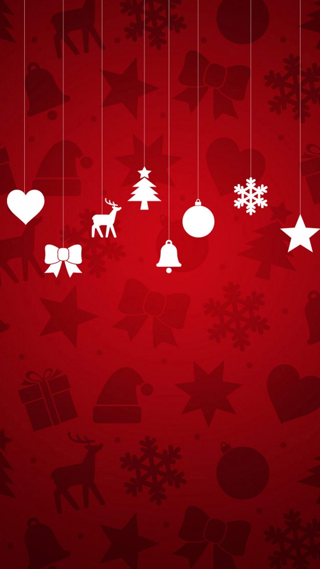 Christmas Hd Wallpaper For Android.Christmas Red Android Wallpaper Android Hd Wallpapers