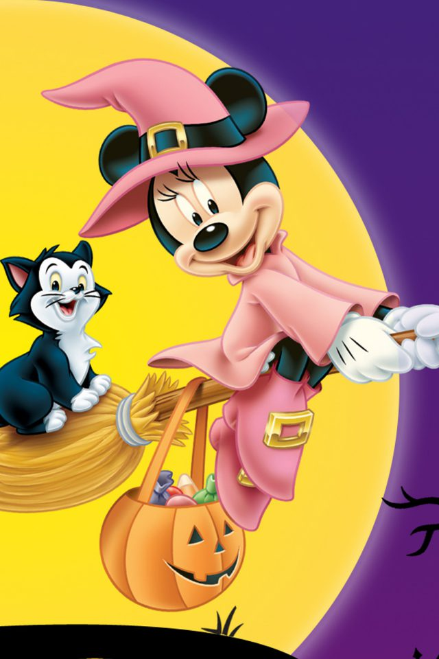 Disney Halloween Android wallpaper