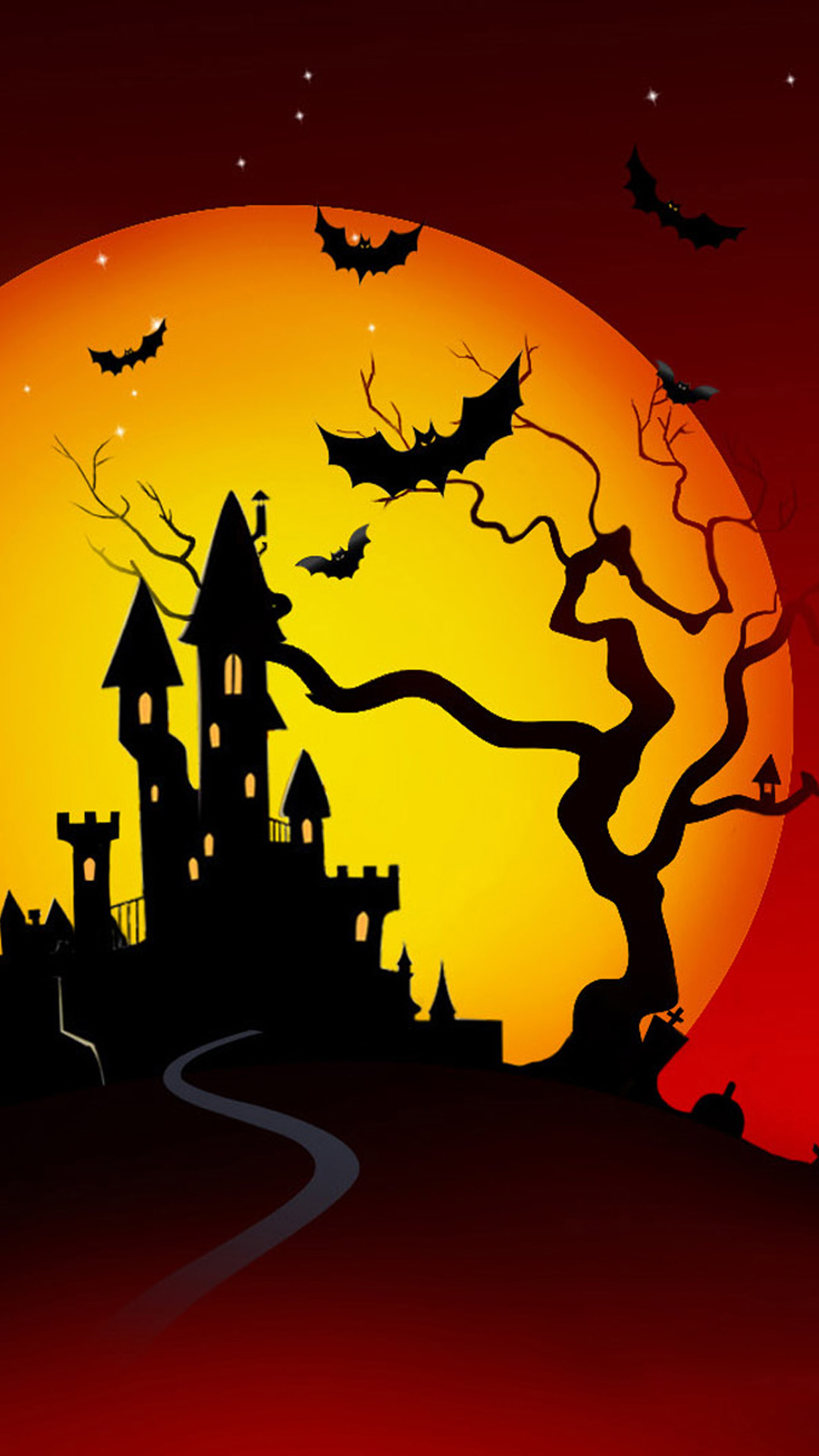 Halloween Night Android wallpaper