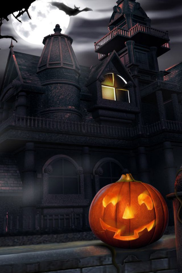 Halloween Pumpkin Android wallpaper
