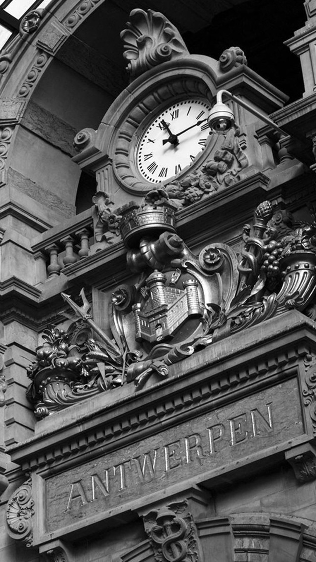 Antwerpen Clock Android wallpaper
