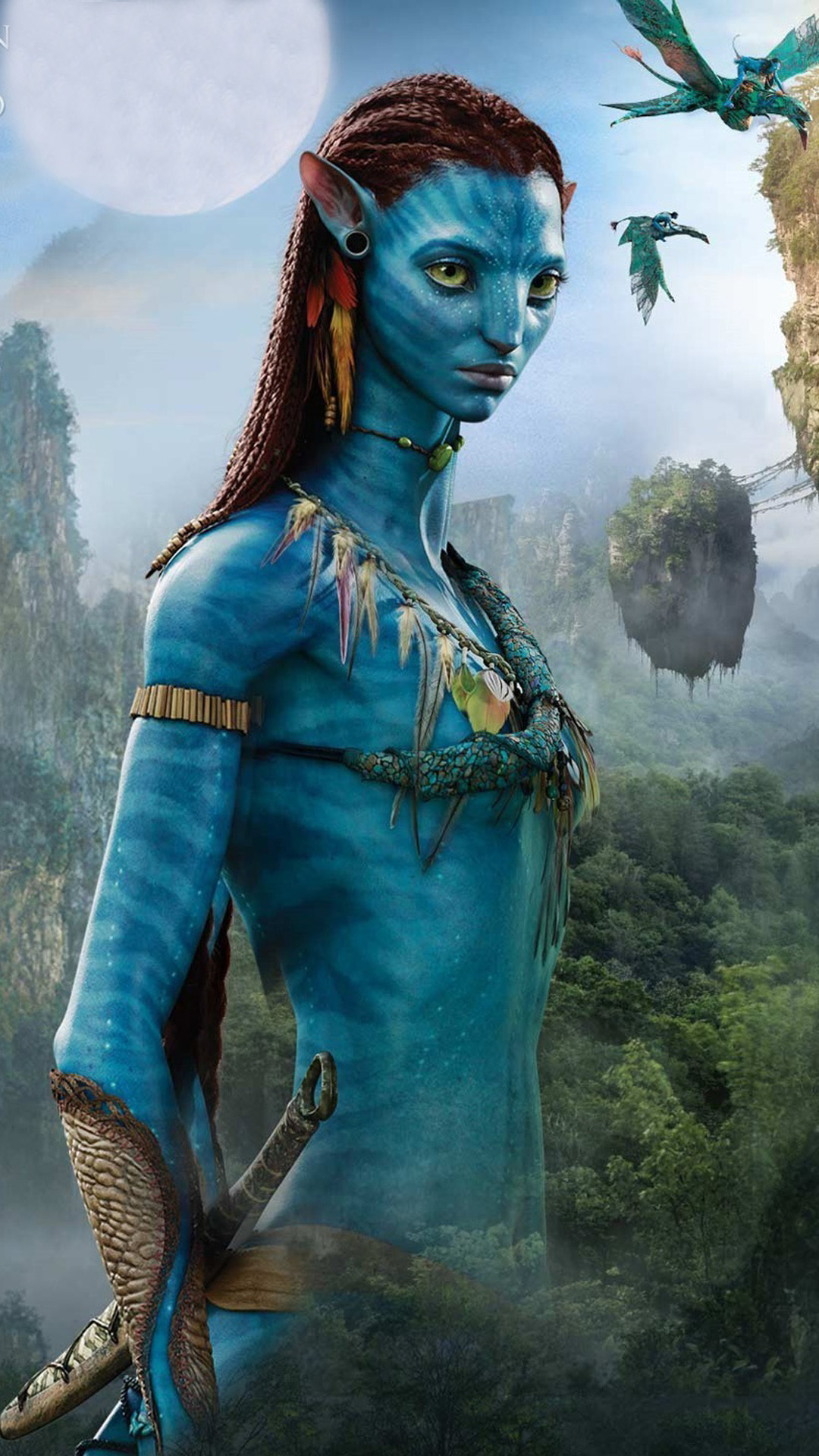 avatar female android wallpaper - android hd wallpapers