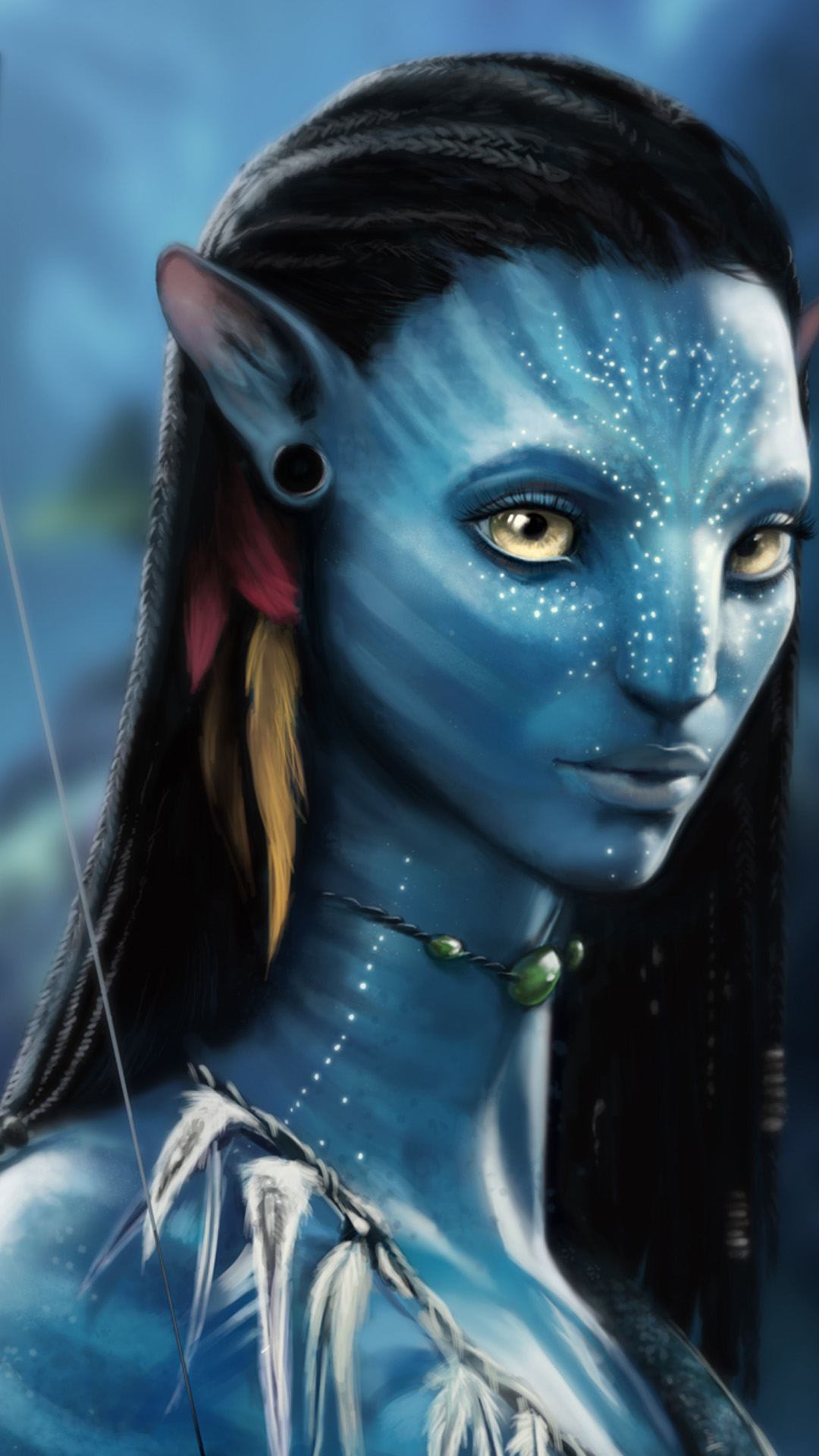 Avatar Actress Android wallpaper