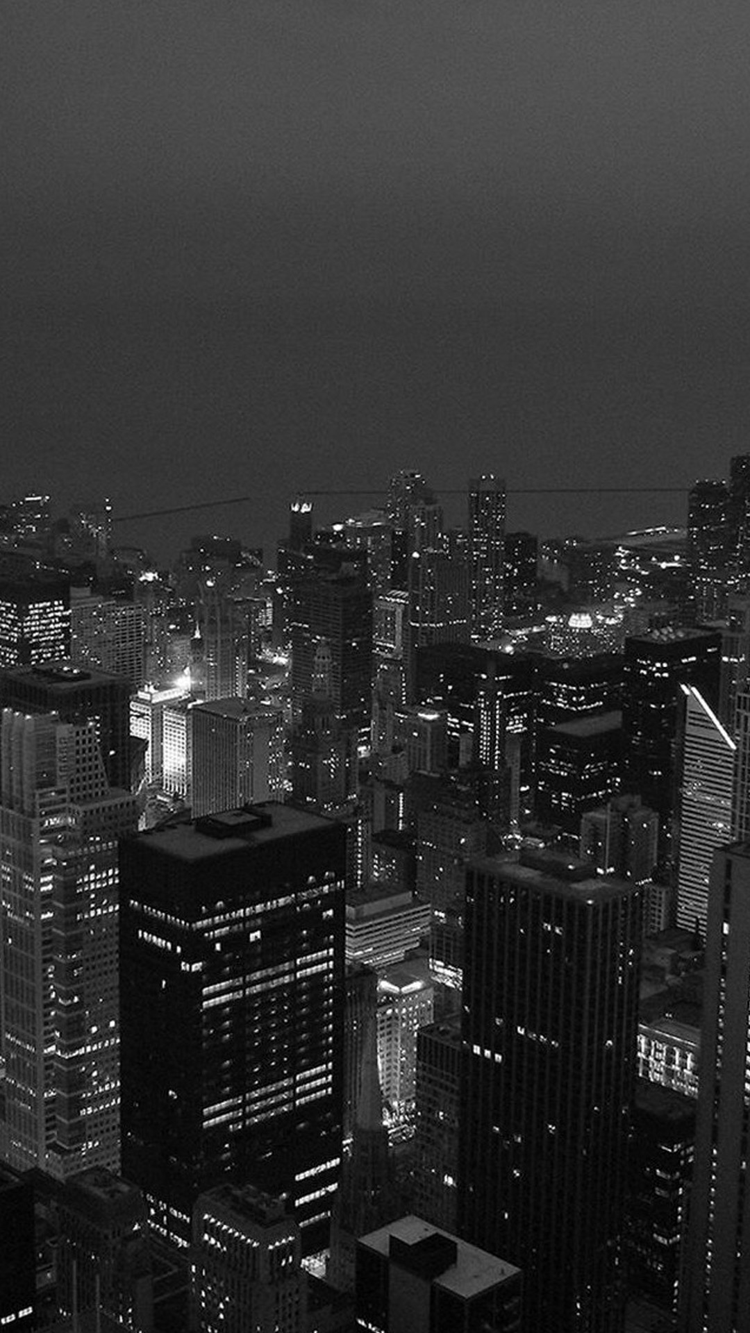 Black White City Android Wallpaper Android Hd Wallpapers