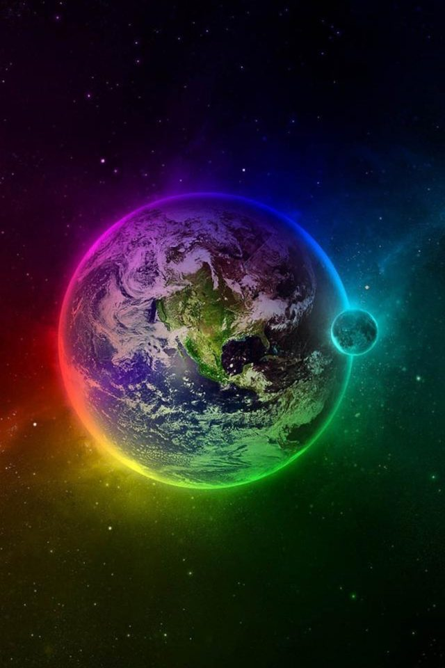 Color Geospace Android wallpaper