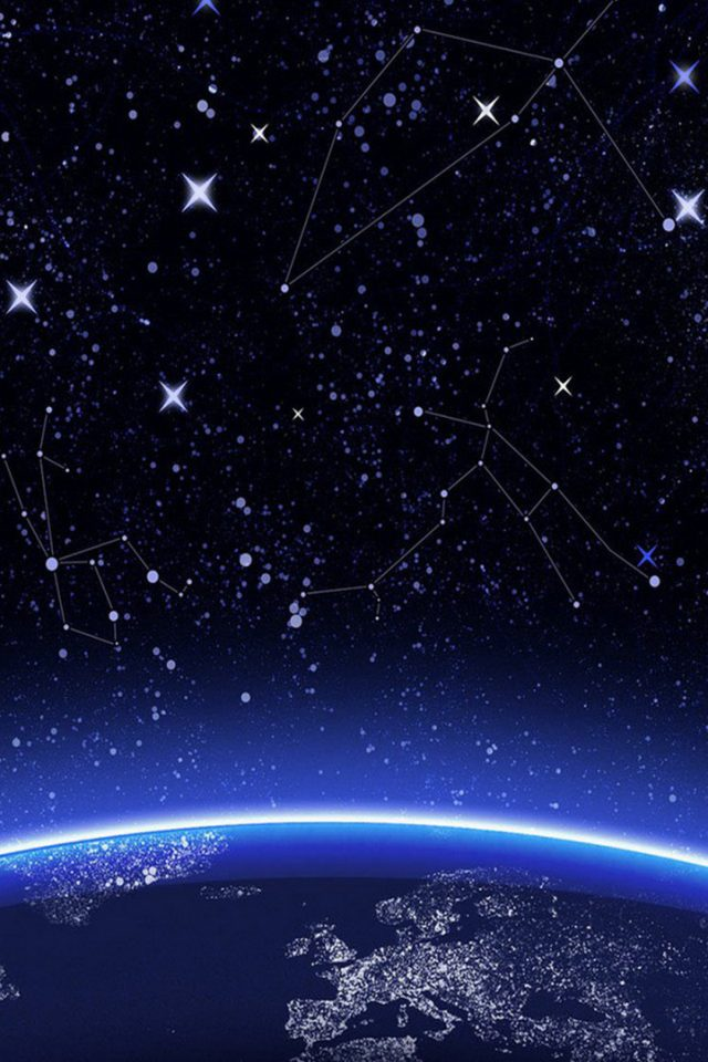 Constellation Space Android wallpaper