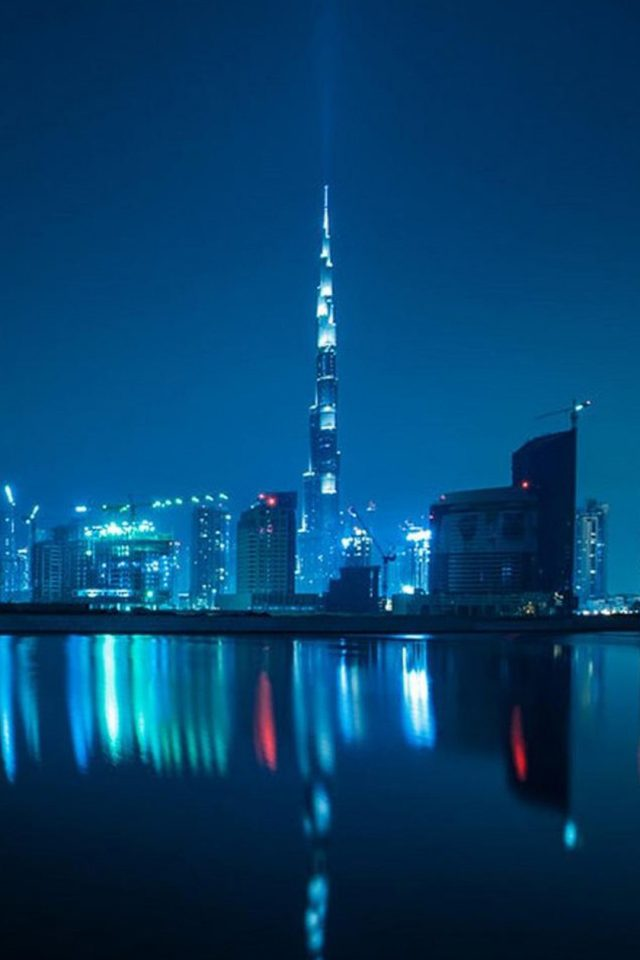 Dubai Burj Khalifa Android wallpaper
