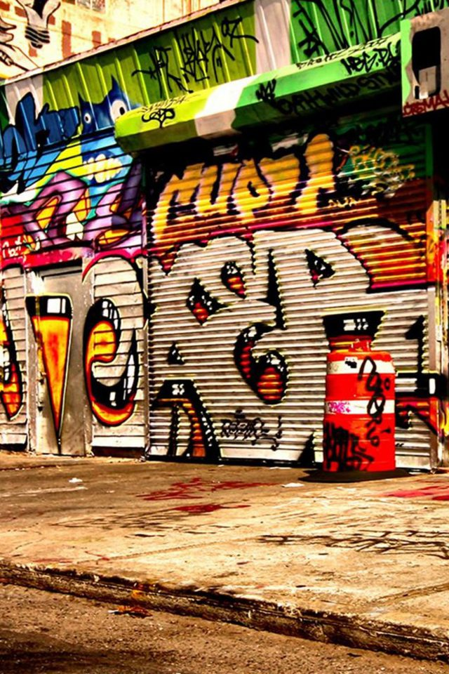 Graffiti Android wallpaper