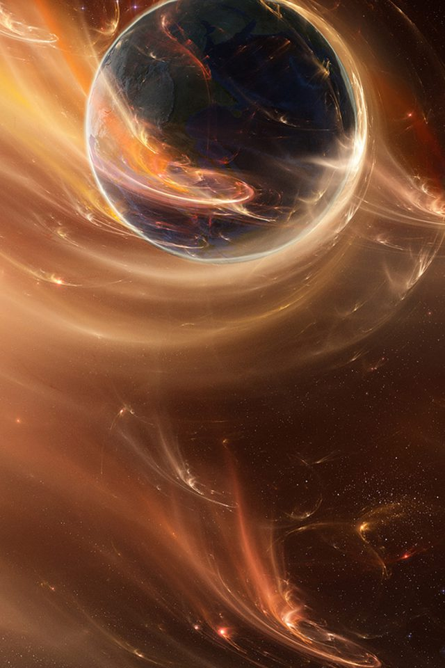 Great Abstract Space Android wallpaper