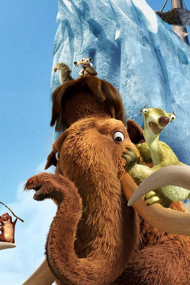 Ice Age Android wallpaper