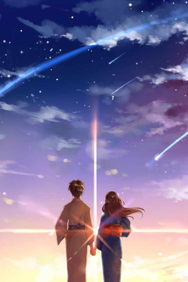 Kimi No Na Wa Cute Android wallpaper