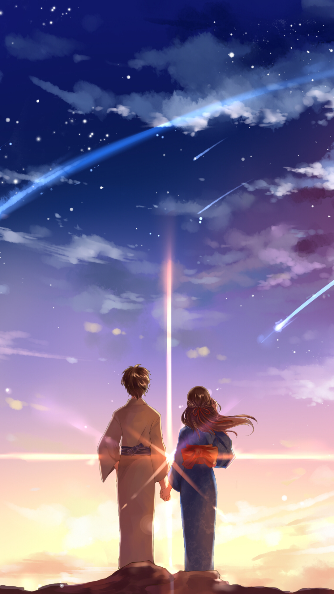 Kimi No Na Wa Cute Android Wallpaper Android Hd Wallpapers
