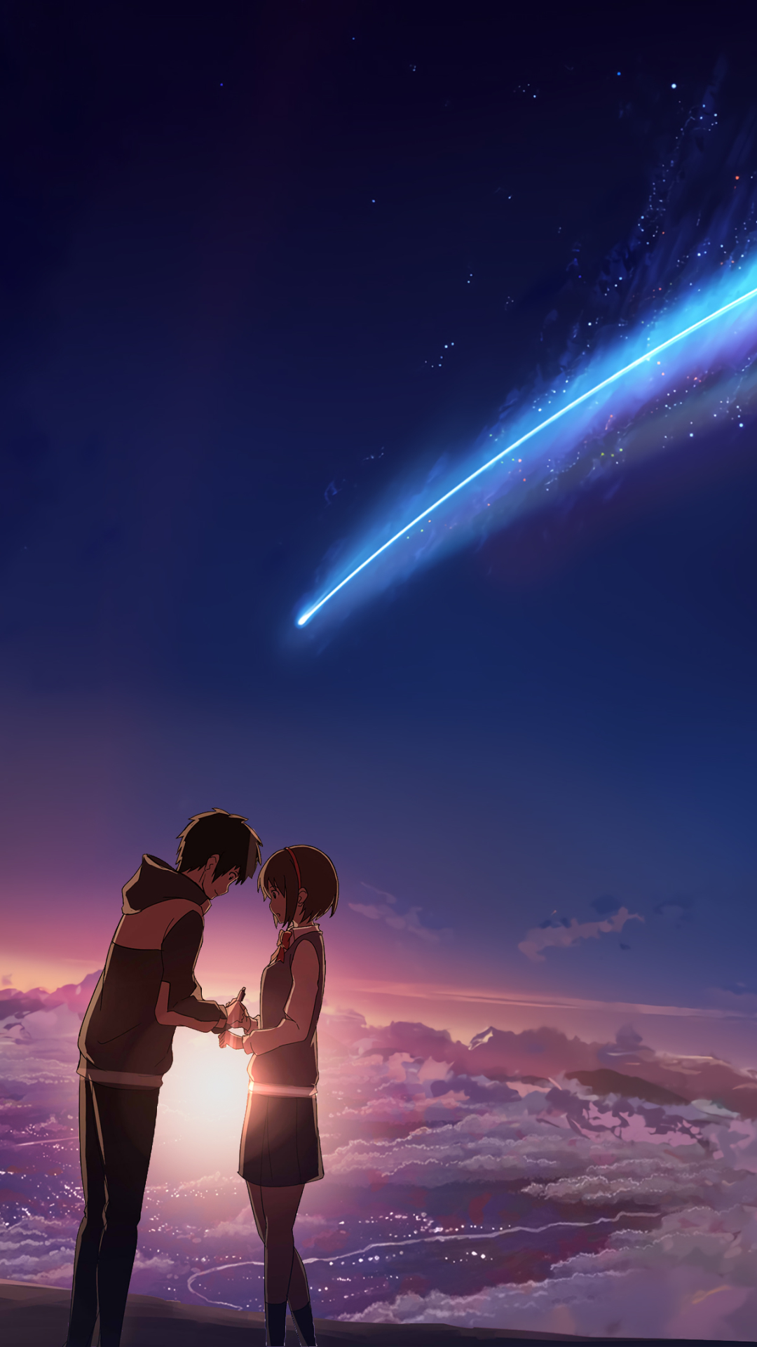 kimi no na wa your name android wallpaper - android hd wallpapers