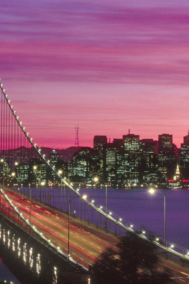 San Francisco Bay Bridge Android wallpaper