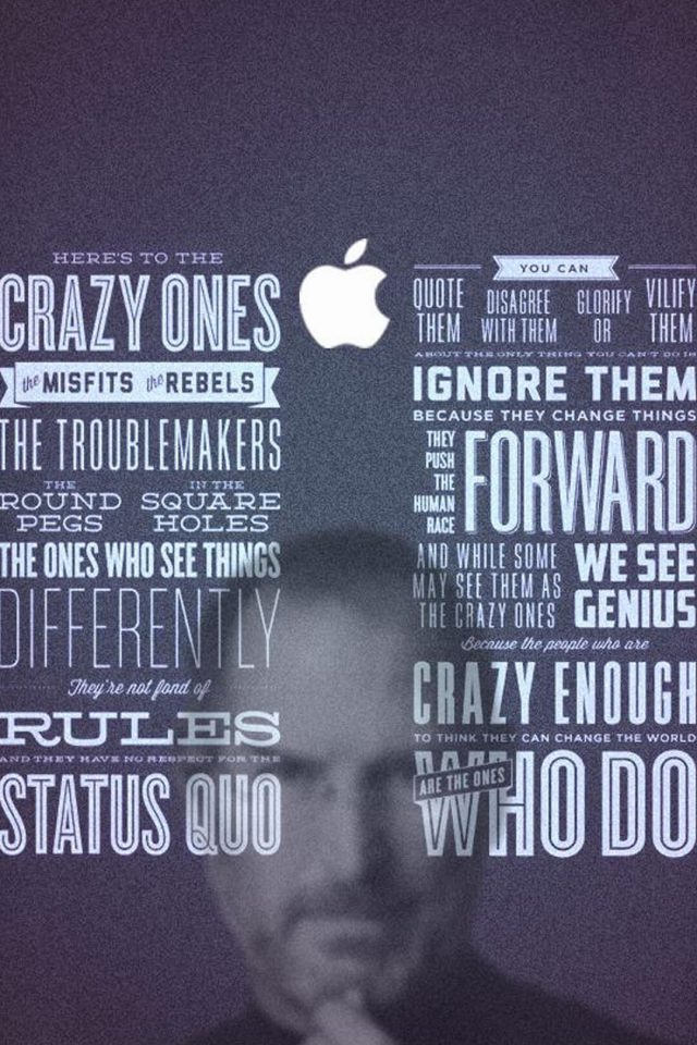 Steve Jobs Quotes Android wallpaper