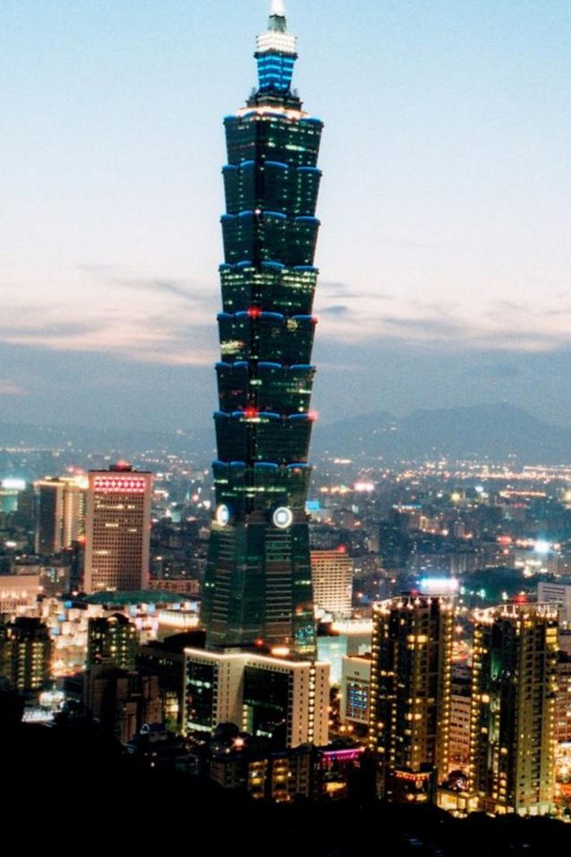 Taipei 101 Android wallpaper
