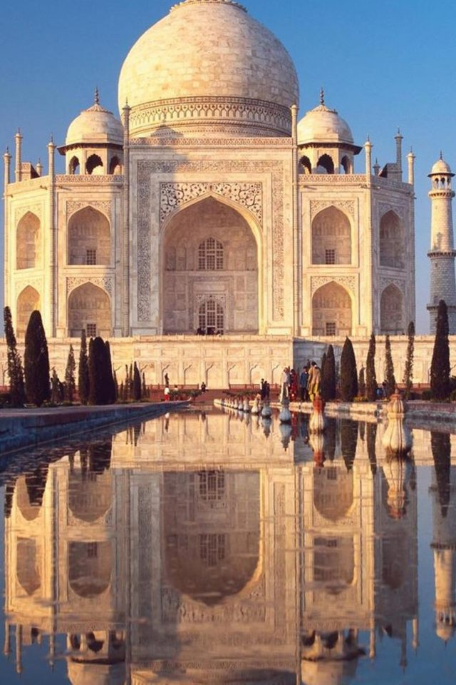 Taj Mahal Android wallpaper