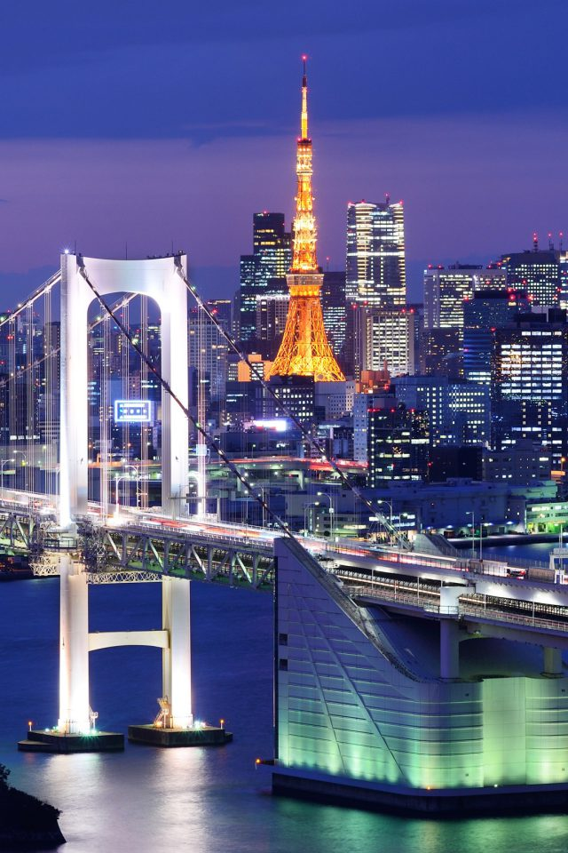Tokyo Tower Android wallpaper