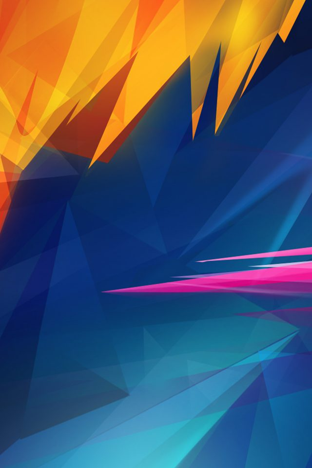 Abstract Art Polygons Pattern Android wallpaper