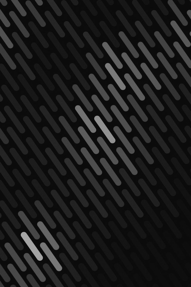 Abstract Dark Bw Dots Lines Pattern Android wallpaper