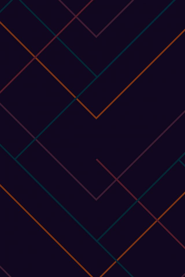 Abstract Dark Geometric Line Pattern Android wallpaper