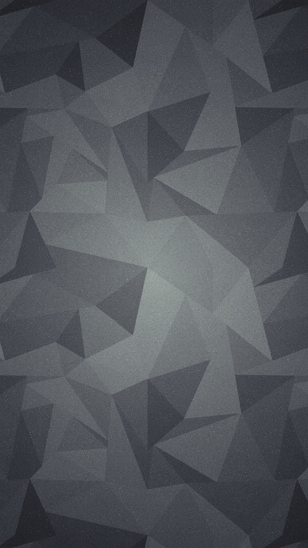 Abstract Polygon Dark Bw Pattern Android wallpaper