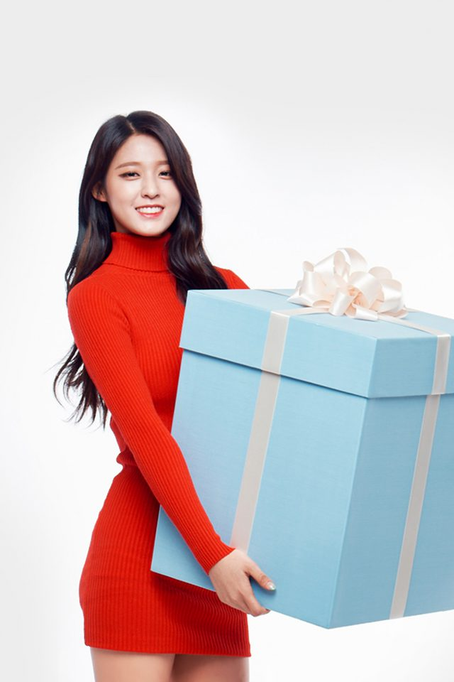Aoa Seolhyun Cute Chirstmas Girl Kpop Android wallpaper