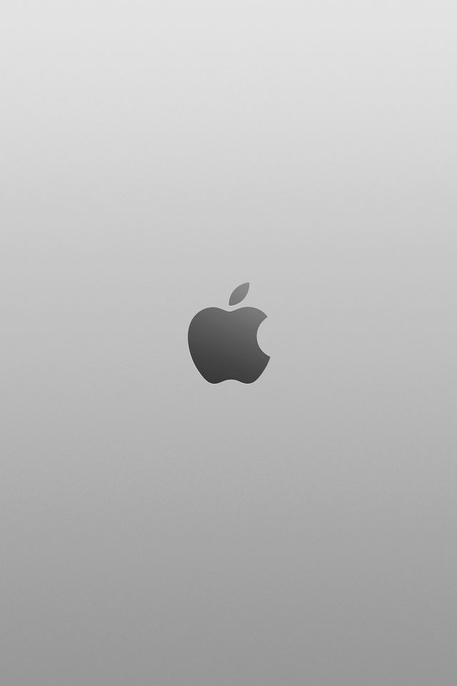 Apple Bw Dark Minimal Illustration Art Android wallpaper